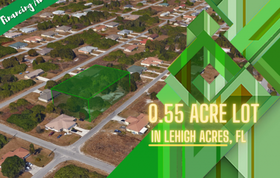0.55-Acre Gem of a Property in Lehigh Acres, FL! Less than an Hour Away from Cape Coral!