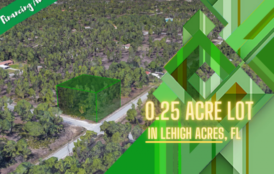 0.25-Acre Gem Near the Lush Fields and Glimmering Beaches of Lee County, FL!